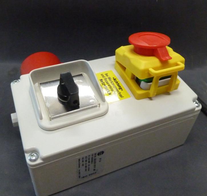 Schalter-Stecker-Kombination - 230/380V (für INTERKRENN IKD-400/550)