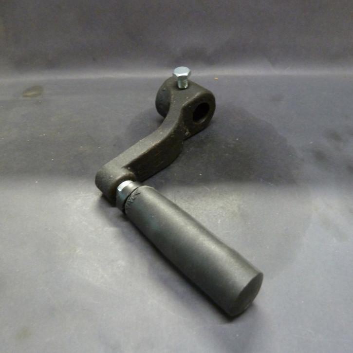 Handkurbel zur Bohrtischverstellung (14 mm)