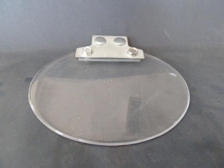 Funkenschutzglas (oval) zu Doppelschleifbock DS-S Serie