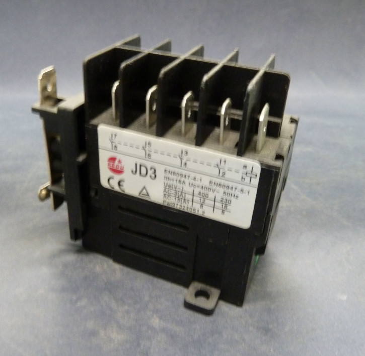 Relais m. 4 Schaltenden f. E/A-Schalter (Typ JD3) - 400V