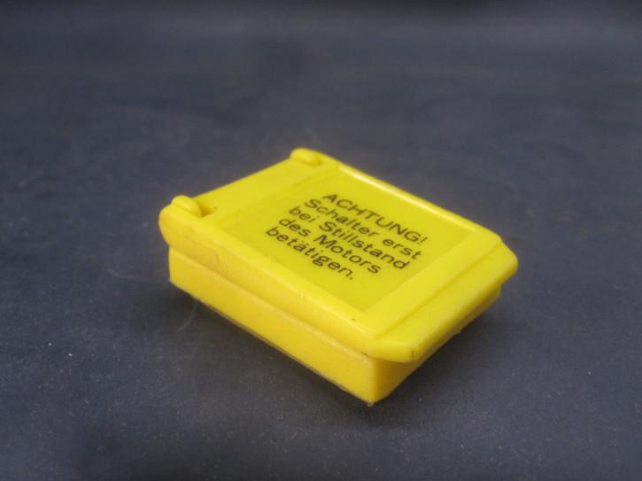 Staubkappe m. Deckel für R/L-Schalter