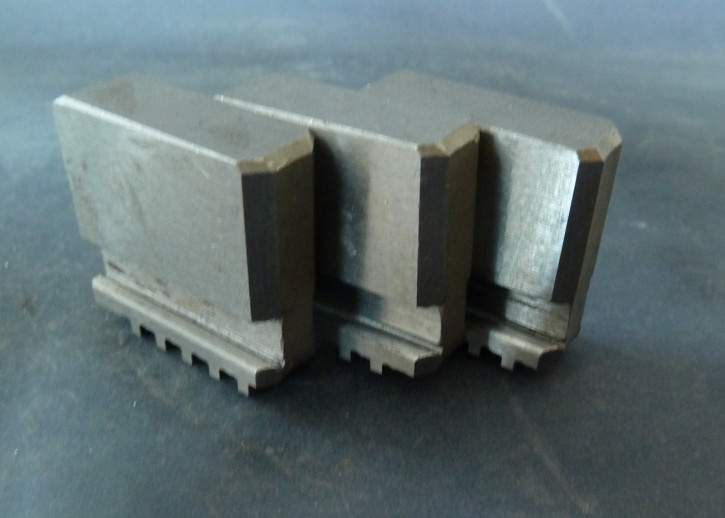 Weiche Blockbacken zu DREI-backenfutter 80-250mm