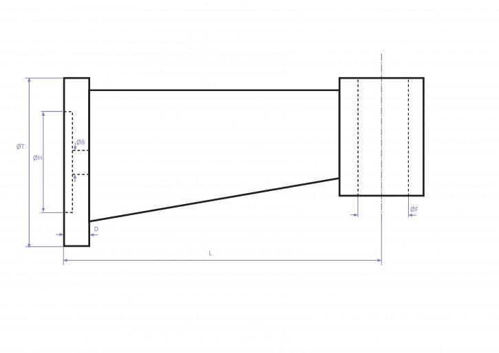 Tischhalter für Bohrmaschinen (Auswahl nach Größe)