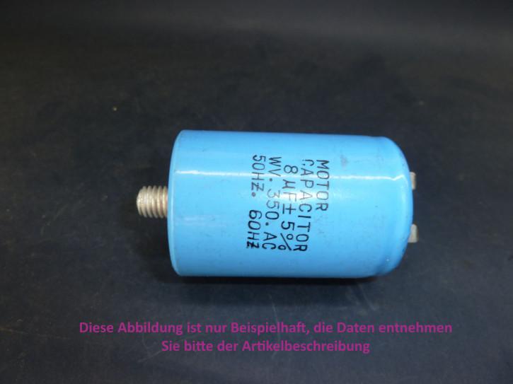 Kondensator 150uF/250V, 80x35mm, Steckanschluß